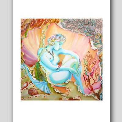 """""""Pearl in The Shell"""" Fine Art Print"""
