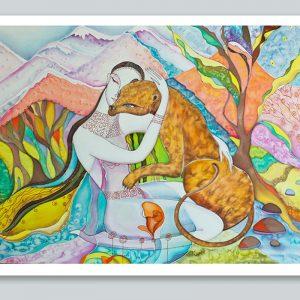 """Taming of The Beast"" Art Print"